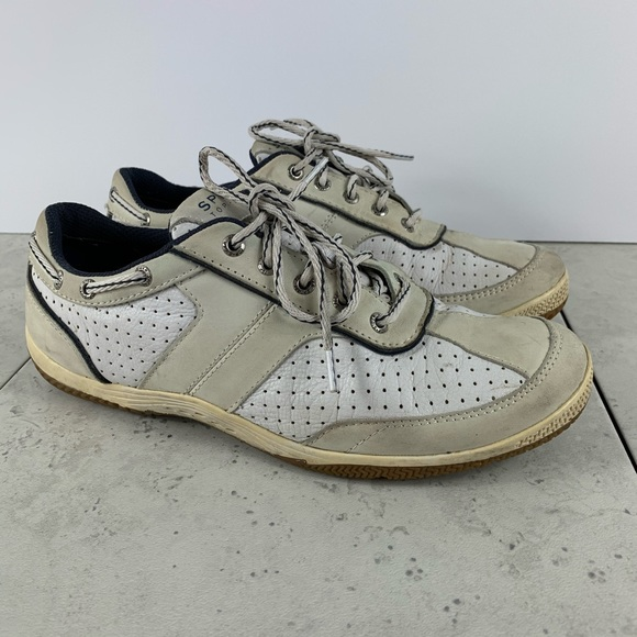 Topsider Leather Tennis Shoe Lace Up